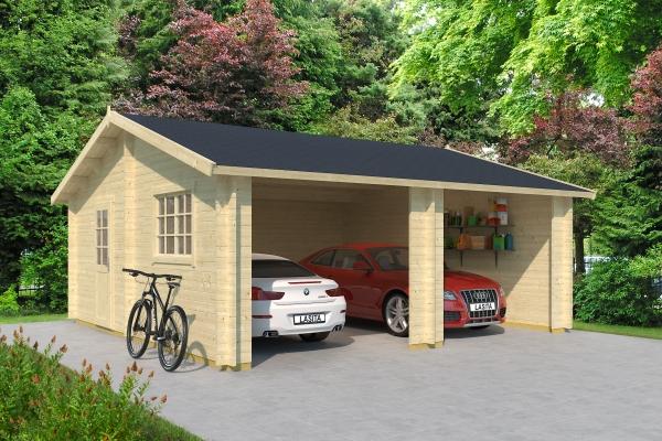 Garage FALKLAND OHNE TORE - unbehandelt