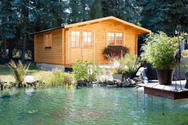 Gartenhaus Nordkap 70-D XL