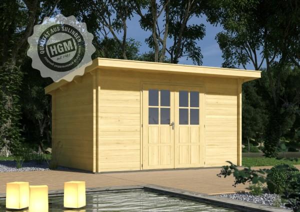 Gartenhaus Achim 44-D inkl. Boden & Imprägniert