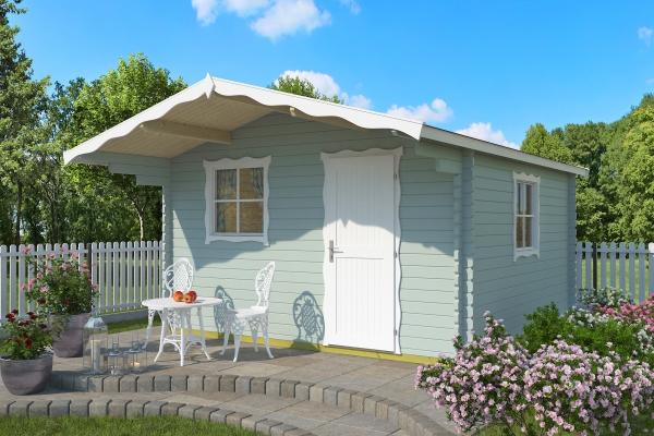 Gartenhaus CORTINA - farbig