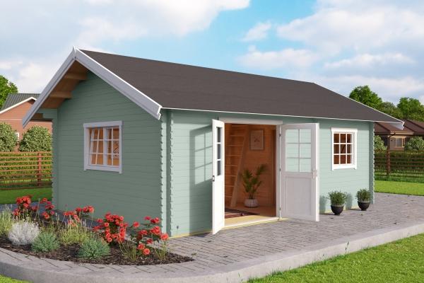 Gartenhaus SET CAROLINE DGP - farbig