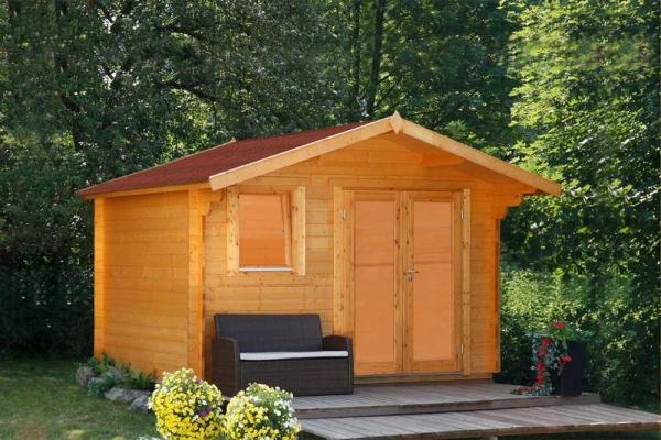 Gartenhaus Oslo 34-F Modern XL