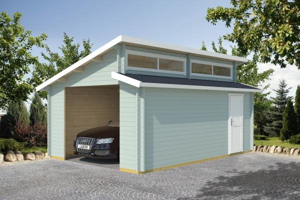 Garage PANAMA OHNE TOR - farbig