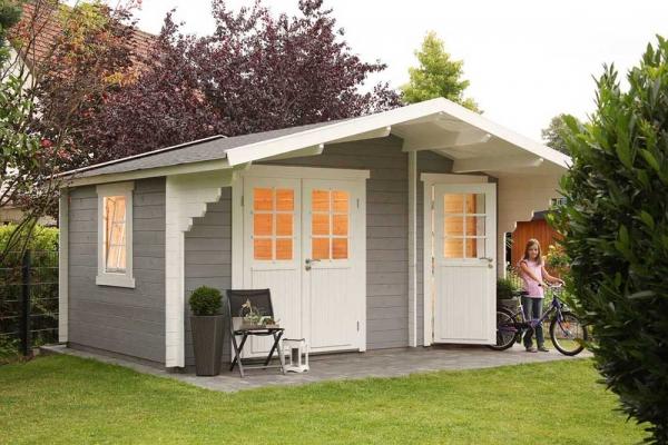 Gartenhaus Caro 34 Klassik XL
