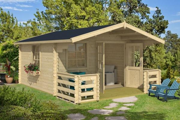 Gartenhaus LUNA 2 - farbig