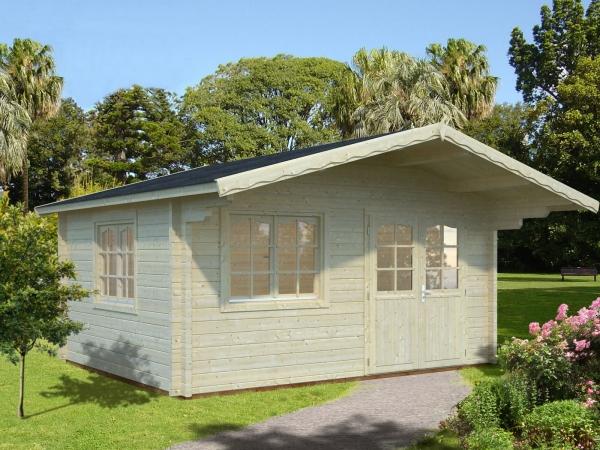 Gartenhaus Helena 15,1 m² - unbehandelt