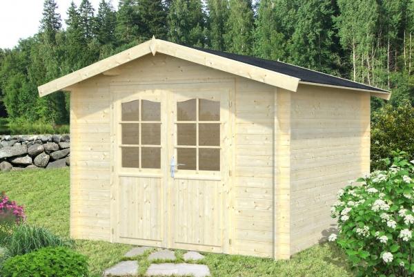 Gartenhaus Lotta 7,3 m² - farbig