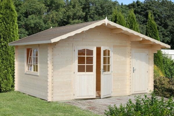 Gartenhaus Emma 14,2 m² - farbig
