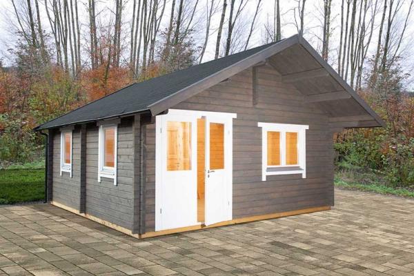Freizeithaus Lappland 70-A XL mit Schlafboden