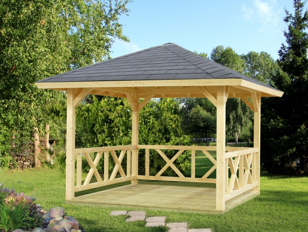 Pavillon Betty 9,0 m² - unbehandelt
