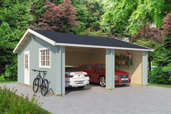 Garage FALKLAND OHNE TORE - farbig