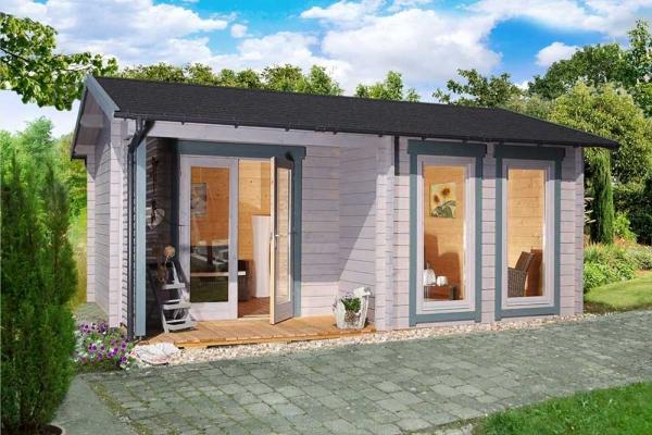 Gartenhaus Malaga 44-B Modern