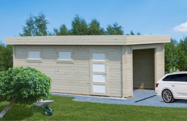 Garage Rasmus 19,0 m² ohne Tor