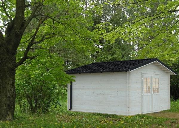 Gartenhaus Tina 13,5 m² - unbehandelt