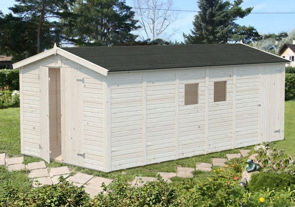 Gartenhaus Dan 14,7 m² - unbehandelt