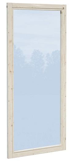 Pavillon Lucy 12,2 m² - Wandelement Glas