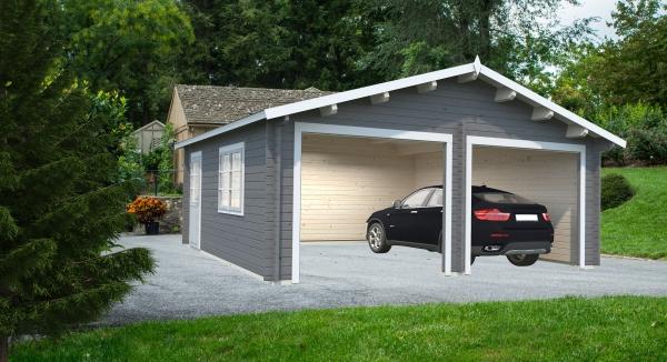 Garage Roger 28,4 m² ohne Tor - unbehandelt
