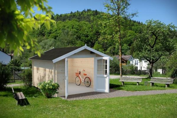 Gartenhaus Lotta 10,0 m² - unbehandelt