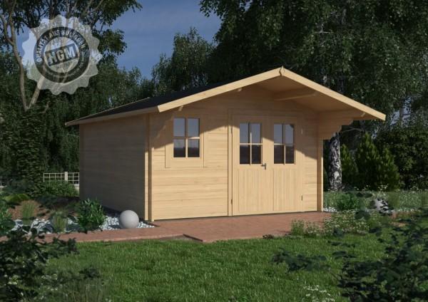 Gartenhaus Nienburg 70-C mit Boden + Isoglas