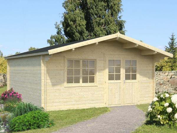Gartenhaus Britta 19,7 m² - unbehandelt