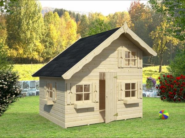 Kinderspielhaus Tom 3,8 m²