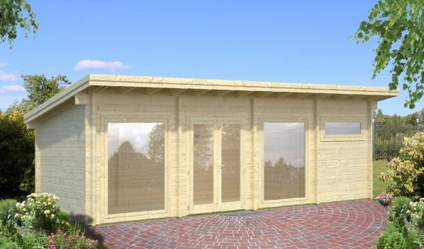 Gartenhaus Heidi 22,8 m²