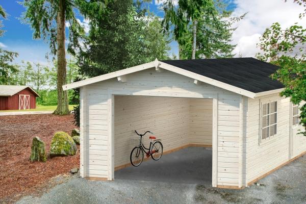 Garage Roger 19,0 m² ohne Tor - unbehandelt