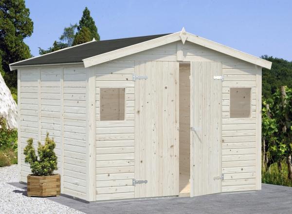Gartenhaus Dan 7,5 m² - unbehandelt