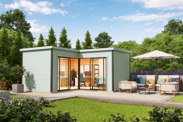Gartenhaus SET DOMEO 6 - farbig