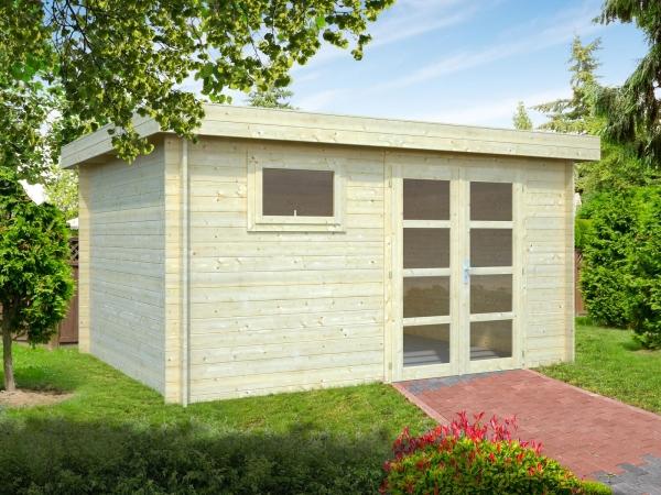 Gartenhaus Elsa 11,3 m² - farbig