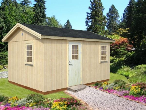 Gartenhaus Hedwig 13,6 m²