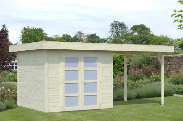 Gartenhaus Lara 6,0+5,9 m²