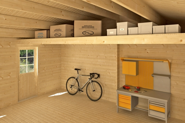 Lagerboden für Garage Falkland