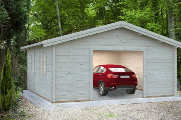 Garage Roger 27,7 m² ohne Tor - farbig