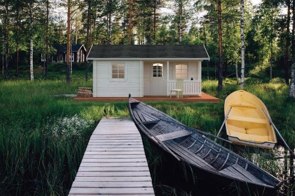 Gartenhaus Sandra 21,5+3,7 m²