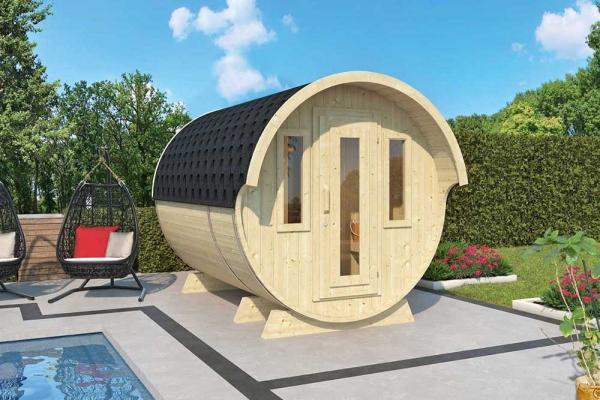 Saunafass 330 de luxe Bausatz