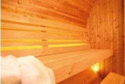 Saunafass: LED-Beleuchtung