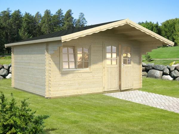 Gartenhaus Sally 15,5 m² - unbehandelt