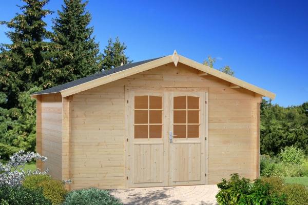 Gartenhaus Lotta 13,9 m² - unbehandelt