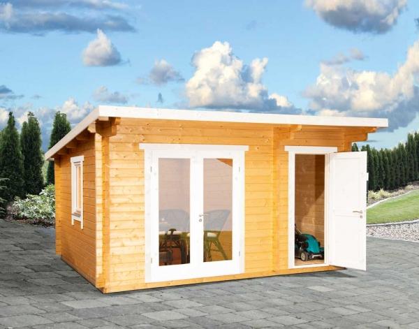 Gartenhaus Trondheim 44-D XL 2-Raum