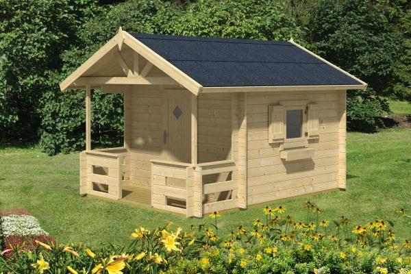 Gartenhaus LIDO - farbig