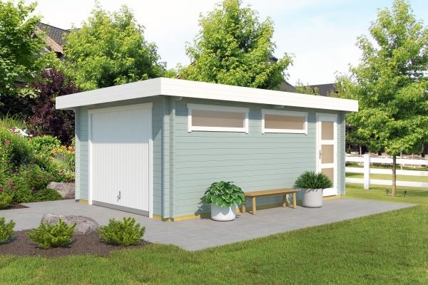 Garage SET Canberra MIT SCHWINGTOR - farbig