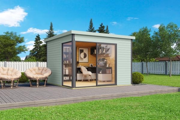 Gartenhaus SET DOMEO 1 - farbig