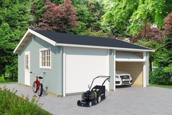 Garage SET FALKLAND MIT SCHWINGTOR - farbig