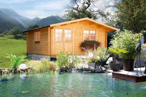 Gartenhaus Nordkap 70-F