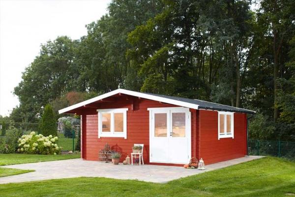 Gartenhaus Nordkap 70-G XL