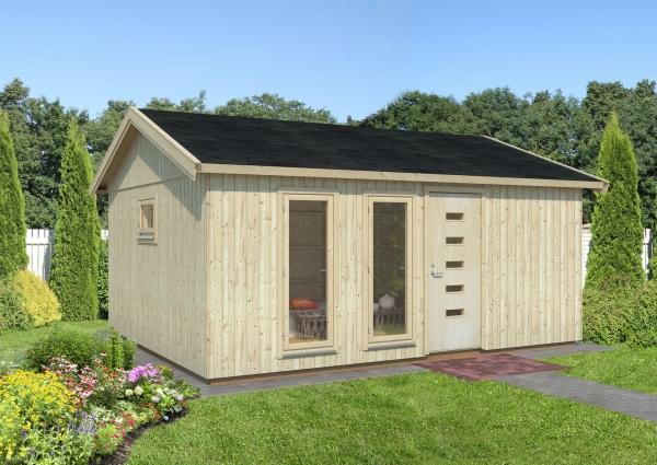 Gartenhaus Charlotte 21,5 m²